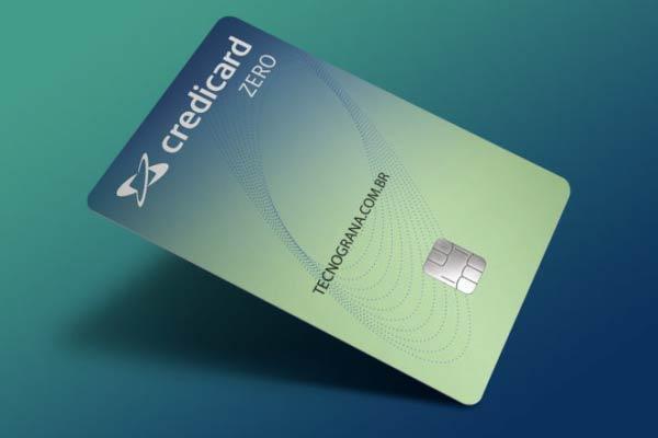 cartão credicard zero