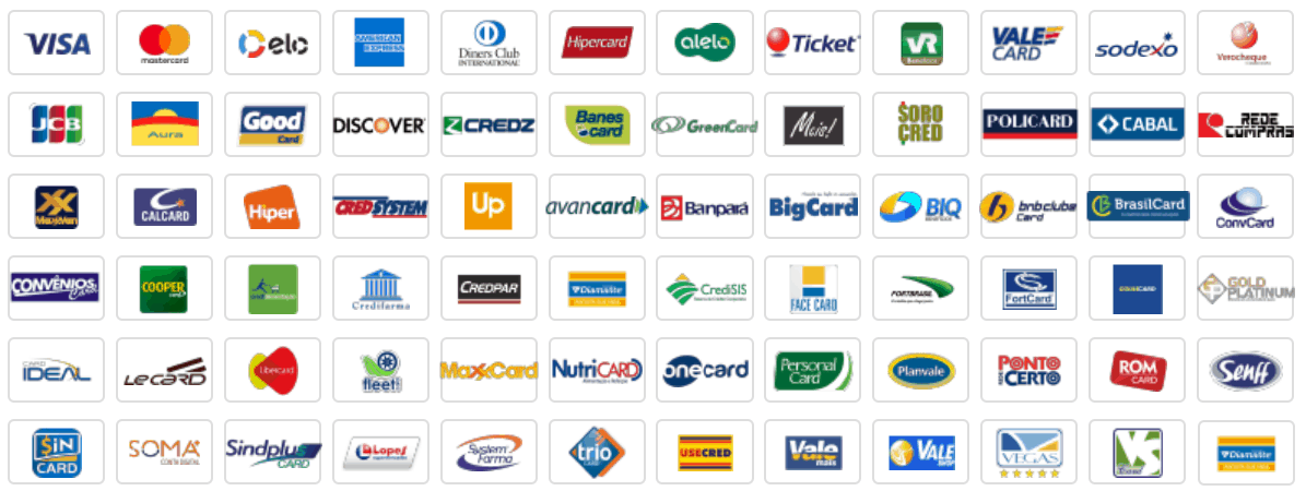bandeira de cartão de crédito