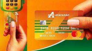 cartao de credito atacadao