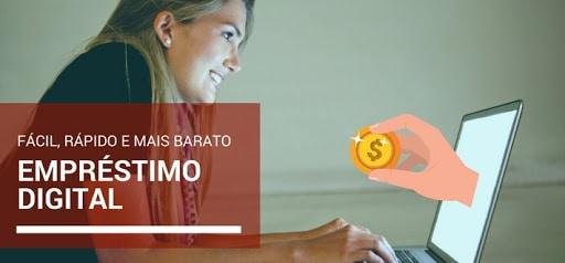 empréstimo online e fácil