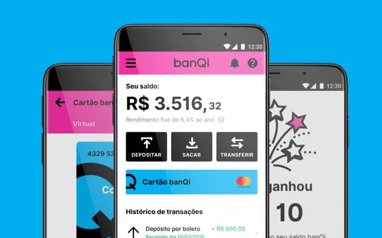 conta digital banqi gaste pouco com tarifas