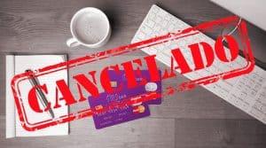 cartão nubank cancelado