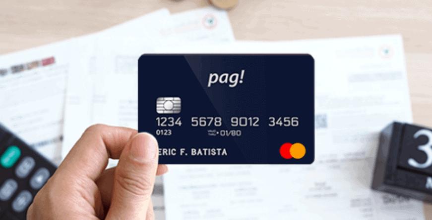 cartão de crédito pag!