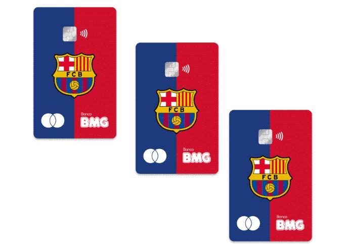 cartão barça bmg