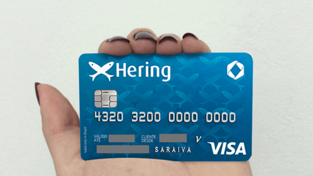 cartão hering