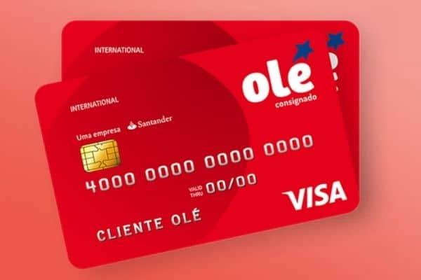 Cartão de crédito consignado Olé
