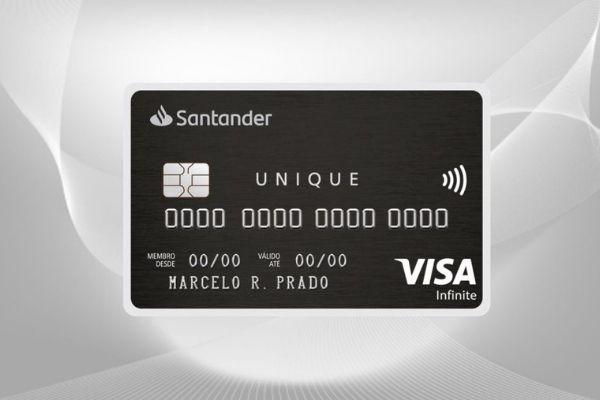 cartão Santander Unique Black