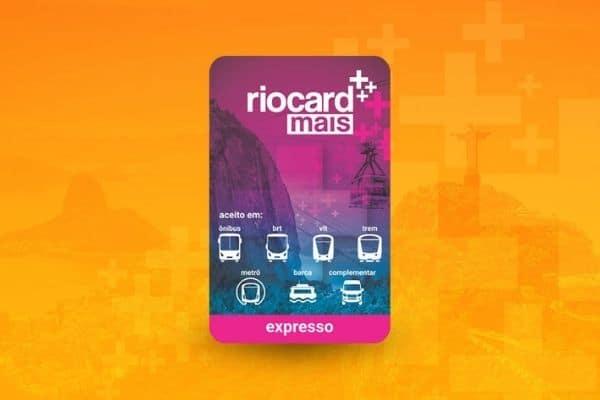 cartão pré-pago Riocard