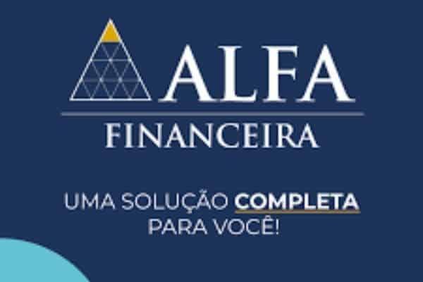 Consignado financeira Alfa