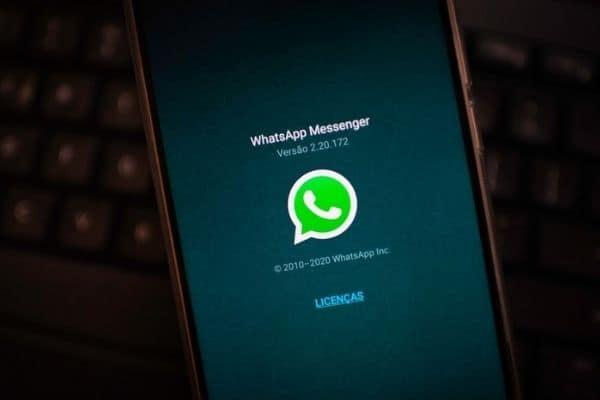 operações que podem ser realizadas no WhatsApp