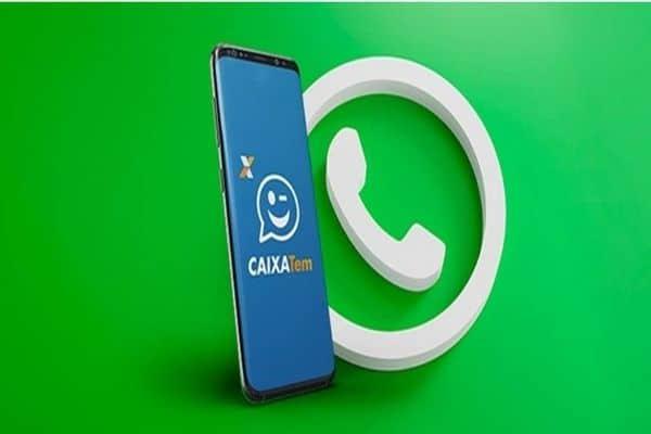 A Caixa e o WhatsApp fecham parceria