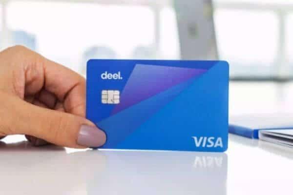 Cartão pré-pago Deel