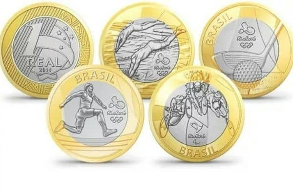 moedas das olimpíadas